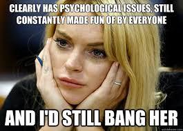 Misguided Lindsay Lohan memes | quickmeme via Relatably.com