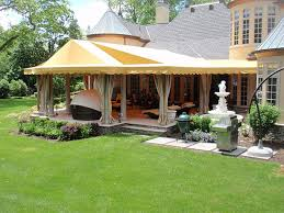 fabric awnings patio covers