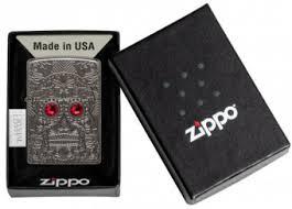 <b>Зажигалка ZIPPO Armor</b>™ Crystal Skull Design 49300 : купить в ...