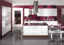 kitchen purple design ideas
