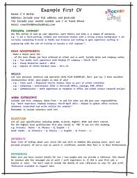 resume template student cv leisure sampl simple in  student cv template leisure resume template resume sampl simple cv in 79 stunning resume template microsoft word 2010