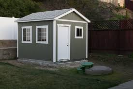 tuff shed installed backyard office shed