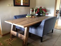 Dining Room Tables Plans Reclaimed Wood Dining Room Table Plans Darling And Daisy