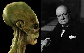 winston churchill believed in aliens