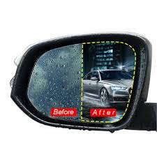 <b>2pcs car rear view mirror</b> protective film nano coating rainproof anti ...