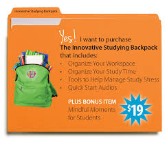the innovative studying backpack be brilliant u good study habits when they re created to work your student s strengths can make a world of difference to the learning process get started today