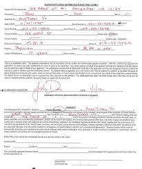 rental forms instrcutions rentology how to fill out the guarantors form