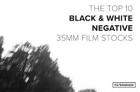Top 10 Black & <b>White</b> Negative 35mm Film Stocks - FilterGrade