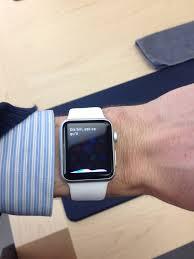 my 170mm wrists wearing a 38mm vs 42mm sport watch apple 38mm close