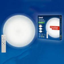 Настенно-потолочный <b>светильник Uniel ULI-D214</b> 72W/SW/50 ...