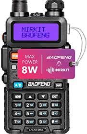 Mirkit Radio Baofeng UV-5R MK4 8W MP Max Power ... - Amazon.com