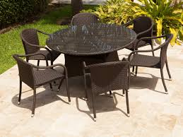 buy source outdoor circa all weather wicker 7 piece dining set buy source outdoor circa