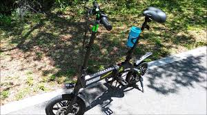 <b>Dohiker Electric Folding Bicycle</b> - 250W Motor - Sunny Day for a ...