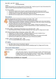 example of a good cv graduate cv page 2