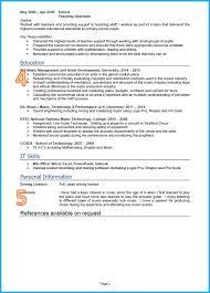 example of a good cv graduate cv page 2