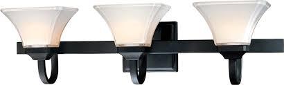 large image of the 6813 66 black vanity lighting