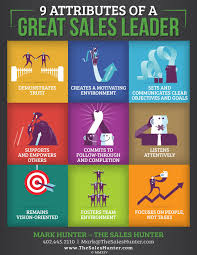 9 attributes of a great s leader infobrandz infobrandz infographic designs a great s leader