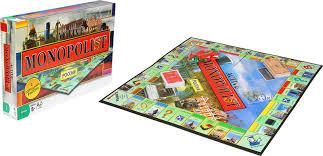 Настольная игра <b>Монополист</b> с городами <b>России</b> в/к <b>6155</b> ...