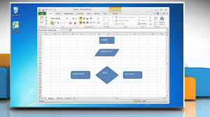 how to make a flow chart in excel   youtube
