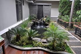 Hasil gambar untuk kolam ikan minimalis