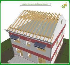 Green Passive Solar House Plans   Green Passive Solar House   Roof Constructions  Passive Solar Home Plans