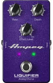 Купить <b>педаль Ampeg LIQUIFIER</b> Analog Bass Chorus