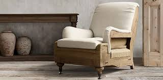 restoration hardware deconstructed furniture burlap furniture