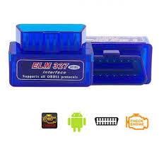<b>ELM327 Bluetooth OBD2 Car</b> Diagnostics Scanner Scan Tool v2.1
