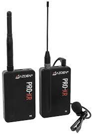 <b>PRO</b>-XR 2.4 GHz <b>Wireless Microphone</b> System | Azden