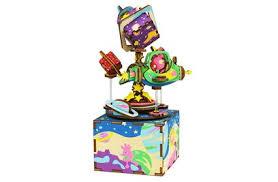 <b>Деревянный 3D конструктор</b> - музыкальная шкатулка <b>Robotime</b> ...