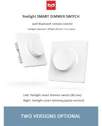 <b>Yeelight Intelligent Bluetooth Dimmer</b> Switch 5 In 1 Control Wireless ...