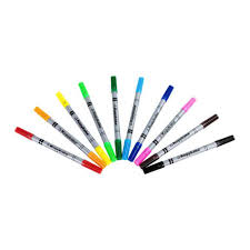 Set of 10 <b>Edible Ink</b> Coloring Pens – Kopykake
