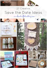 Creative Save the Date Ideas   MountainModernLife com Mountain Modern Life