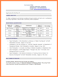 9 b pharmacy fresher resume format resume studio fresher resume format for mca