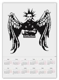 """Календари c стильными принтами """"рисунок"""" - <b>Printio</b>"""