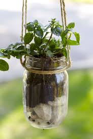 jar crafts home easy diy: mason jar herb planter herb planter mason jar herb planter