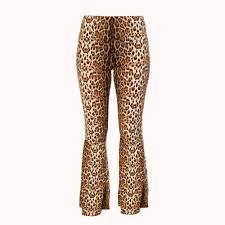 <b>HIGH WAISTED LEOPARD PRINT</b> FLARE   Cat Fashionista