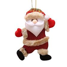 Clemunn <b>24</b> * 12Cm <b>Santa Claus Christmas</b> Ornaments Home ...