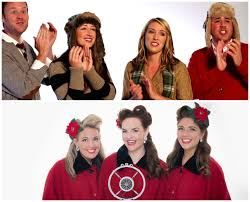 singers at denver events throughout the holiday season denver party singers mistletones and company b gals