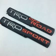 <b>Free Shipping</b> Toyota 4Runner <b>1pcs</b> ABS TRD OFF Road / TRD ...