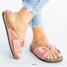 New <b>Arrival</b> Satin <b>Bowtie</b> Flat Sandals in <b>2019</b> | Shoe Caboodle ...