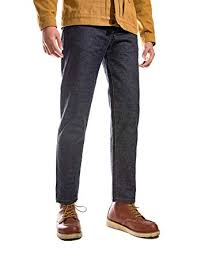 <b>MADEN Men's Vintage Regular</b> Straight Leg Fit Indigo Selvedge ...