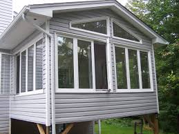 Sunroom Designs Decoration Attractive Patio With Deck Ralimgs And Outdoor Lounge