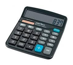 Купить <b>Калькулятор PERFEO</b> PF- 3286 (Бухгалтерский, 12 ...