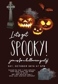 <b>Halloween</b> Party Invitation Templates (Free) | Greetings Island