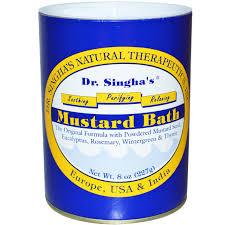 Dr. Singha's, <b>Горчичная ванна</b>, <b>227 г</b>, цена 486 грн., купить в ...