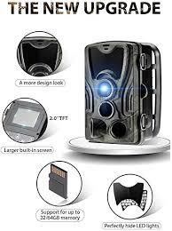 AOOTUO <b>HC801A</b> Hunting Camera 1080p <b>HD</b> Video Waterproof ...
