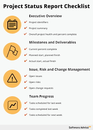 how to create the perfect project status report checklist checklist