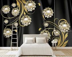 Custom <b>3D</b> Wallpaper <b>Silk</b> Cloth Waterproof Canvas Murals Wall ...