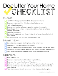 How To Enjoy Deep Cleaning Your House Free Checklist Cleaning - Decluttering your bedroom
